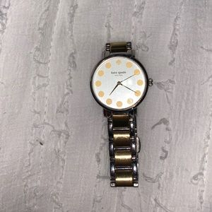 Kate Spade silver and gold watch